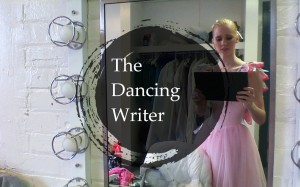 I seriously feel like The Dancing Writer now.
