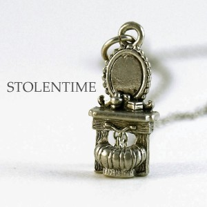 I have a vanity charm necklace that I will be using on the cover. Not this one though.