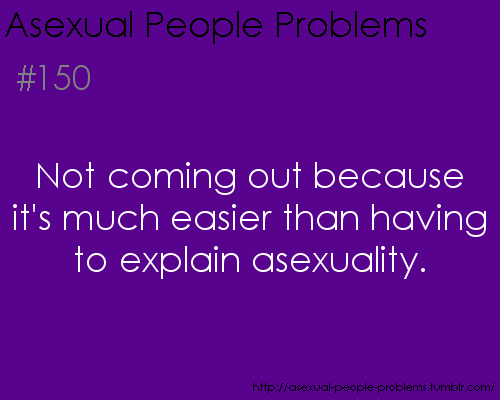 How to come out as asexual